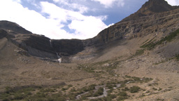 HD2009-8-10-16 glacial valley pan Stock Video Footage