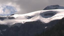 HD2009-8-10-22 glacier valley pan Stock Video Footage
