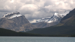 HD209-8-11-11 glacier and mountain and lake Footage