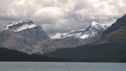 HD209-8-11-11 glacier and mountain and lake Stock Video Footage
