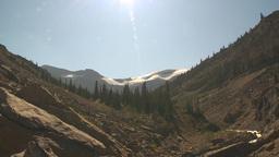 HD2009-8-21-5 glacial valley Stock Video Footage