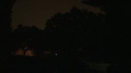 HD2009-8-22RC-13 night thunderstorm lightning Stock Video Footage