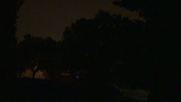 HD2009-8-22RC-13 night thunderstorm lightning Stock Video Footage