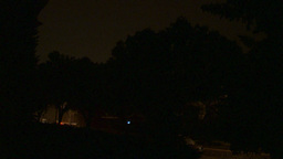HD2009-8-22RC-15 night thunderstorm lightning forks Stock Video Footage