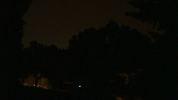 HD2009-8-22RC-15 night thunderstorm lightning forks Footage