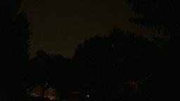 HD2009-8-22RC-17 night thunderstorm lightning Stock Video Footage