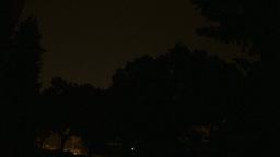 HD2009-8-22RC-17 night thunderstorm lightning Footage