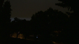 HD2009-8-22RC-19 night thunderstorm lightning forks Stock Video Footage