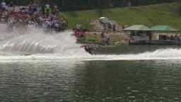 HD2009-8-23-7RC water ski comp female Footage