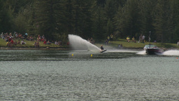 HD2009-8-23-9RC water ski comp wipeout Footage