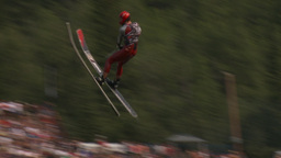 HD2009-8-23-31RC water ski jump comp Stock Video Footage