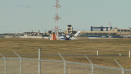 HD2009-8-43-7RC crj United exprerss takeoff Stock Video Footage