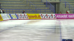 HD2009-12-1-9 Speed skating oval race LL Stock Video Footage