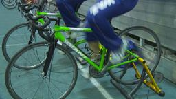 HD2009-12-1-39 stationary bike trg Footage