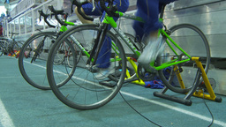 HD2009-12-1-41 stationary bike trg Footage