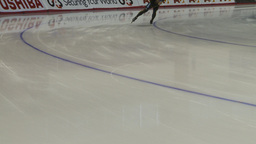 HD2009-12-1-57 Speed skaters practise corner no faces Footage