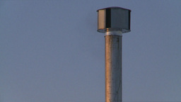 HD2009-2-1-24 remote gas compressor stn at sunrise Footage