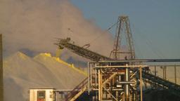 HD2009-2-1-34 sulfur pile steam Footage