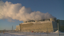HD2009-2-1-40 power generation plant Stock Video Footage