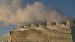 HD2009-2-1-42 power generation plant Stock Video Footage