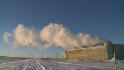 HD2009-2-1-46 power generation plant Stock Video Footage