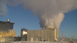 HD2009-2-1-50 power generation plant Stock Video Footage