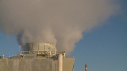 HD2009-2-1-52 power generation plant Stock Video Footage