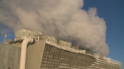 HD2009-2-1-56 power generation plant Stock Video Footage