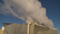 HD2009-2-1-58 power generation plant Stock Video Footage