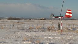 HD2009-1-1-1 aero vane snow airstrip Footage