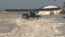 HD2009-1-1-3 pilot primes fleet canuck satrts motor Stock Video Footage