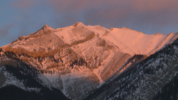 HD2009-1-1-9 sunrise over mtns Footage