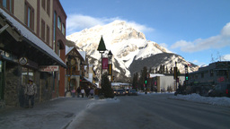 HD2009-1-1-37 Banff town Footage