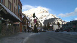 HD2009-1-1-37 Banff town Stock Video Footage
