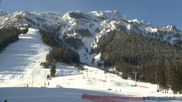 HD2009-1-1-39 Banff norquay ski hill Stock Video Footage