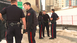 HD2009-1-5-6 police Stock Video Footage
