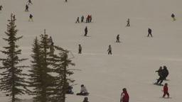 HD2009-1-5-20 ski hill Stock Video Footage