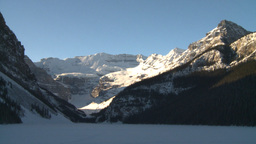 HD2009-1-6-16 Lake Louise icon shot Stock Video Footage