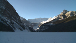 HD2009-1-6-20 Lake Louise icon shot Stock Video Footage