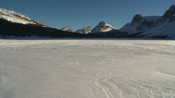 HD2009-1-8-4 Bow Glacier lake pan Footage
