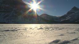 HD2009-1-8-6 snow mtn z Stock Video Footage