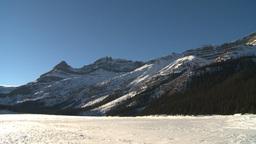 HD2009-1-8-10 snow mtn z Stock Video Footage