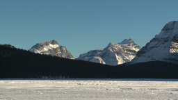 HD2009-1-8-12 glacier snow mtn z Stock Video Footage