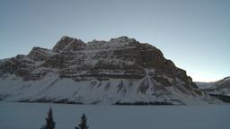 HD2009-1-8-14 Bow Glacier lake pan Stock Video Footage