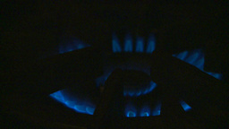 HD2009-1-9-4 stove gas flame Stock Video Footage