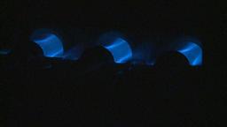 HD2009-1-9-12 gas furnace Stock Video Footage