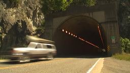 HD2009-7-1-2 Yale tunnel Stock Video Footage