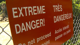 HD2009-7-1-26 extreme danger Stock Video Footage