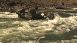 HD2009-7-1-34 whitewater rapids Stock Video Footage