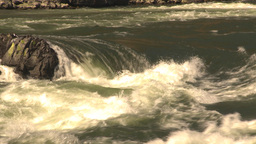 HD2009-7-1-44 whitewater rapids river Stock Video Footage